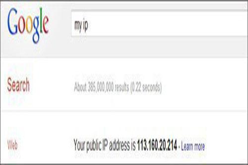10 lệnh tìm kiếm hay trên Google