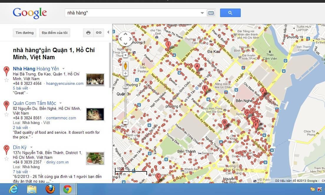 Mẹo nhỏ bổ ích với Google maps