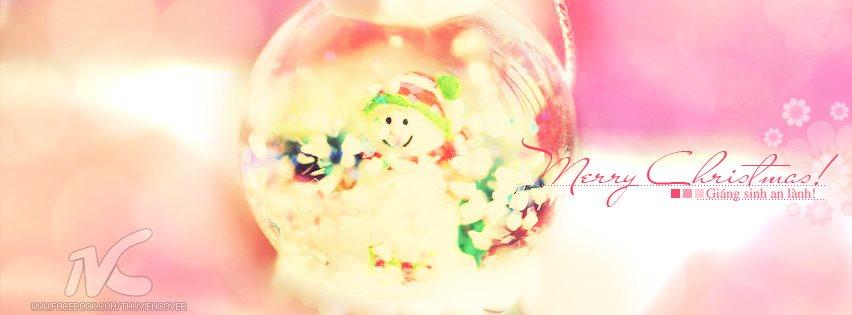 Ảnh bìa Facebook chúc mừng Noel, Giáng Sinh, Merry Christmas đẹp nhất
