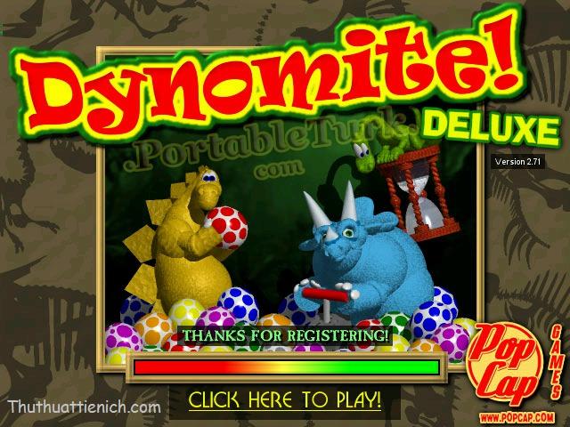 Dynomite Deluxe - Game bắn trứng khủng long cực hay