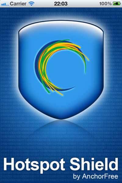 Vào Facebook bằng VPN Hotspot Shield