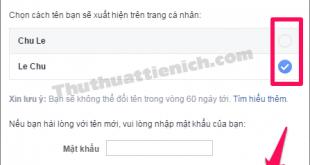 Cách thay đổi tên Facebook nhanh nhất