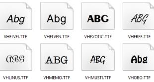 Tải Font chữ tiếng Việt VNI Full đầy đủ nhất