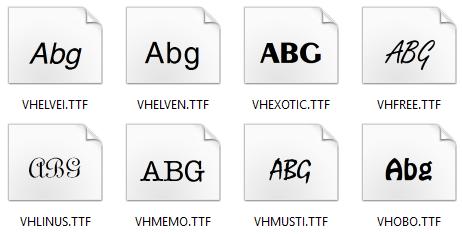 Font VNI full đầy đủ nhất