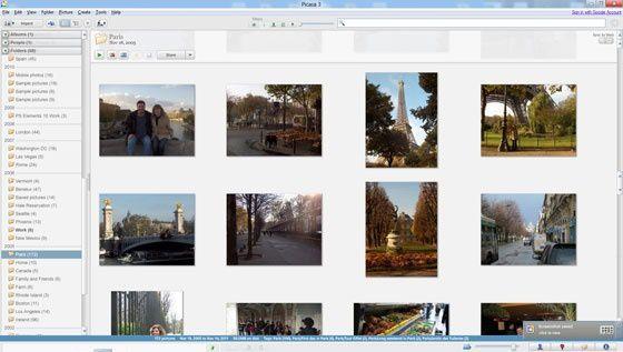Phần mềm quản lý tập tin hình ảnh Picasa