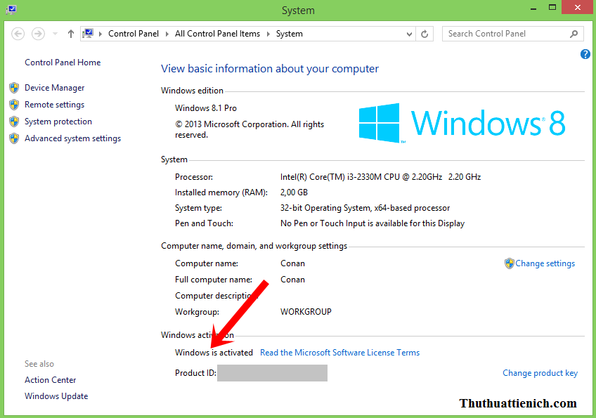 Active Windows 8/8.1