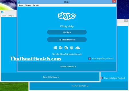 Chat 2, nhiều nick Skype