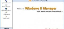 Phần mềm quản lý và tối ưu windows 8 Yamicsoft Windows 8 Manager