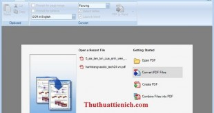 Phần mềm chuyển file PDF sang Word Solid Converter