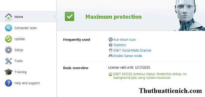 Key Eset NOD 32 Antivirus bản quyền đến 2015. Chia sẻ key bản quyền phần mềm diệt virus Eset NOD ...