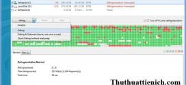 phần mềm chống phân mảnh ổ cứng Auslogics Disk Defrag