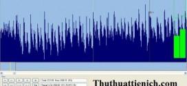 phần mềm cắt nhạc mp3 miễn phí mp3DirectCut