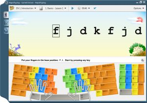 Học gõ 10 phím nhanh với phần mềm RapidTyping