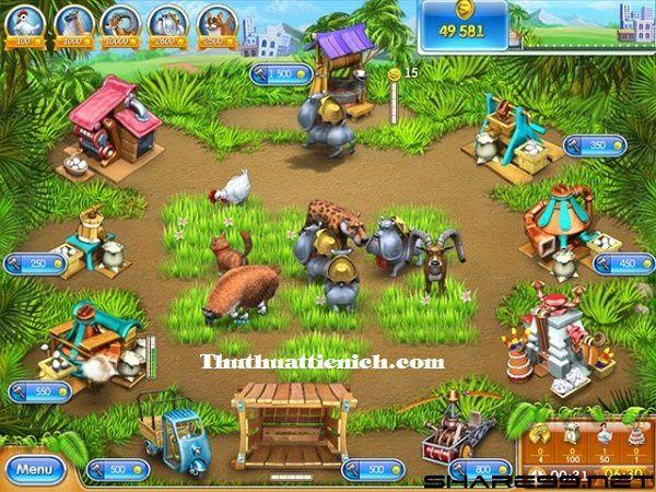 Game nông trại Farm Frenzy 3 Offline