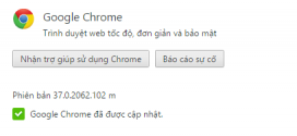 Tải Google Chrome 37.0.2062.102 Stable cài đặt Offline