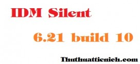 Download phần mềm IDM Silent 6.21 build 10