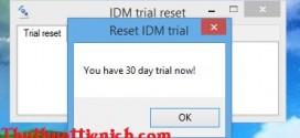 Tải phần mềm tự động Reset ngày dùng IDM – Dùng IDM vĩnh viễn
