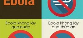 Những thông tin về virus Ebola từ tổ chức y tế thế giới
