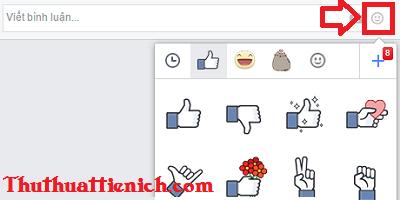 Bình luận bằng Sticker ( nhãn dán) trên Facebook