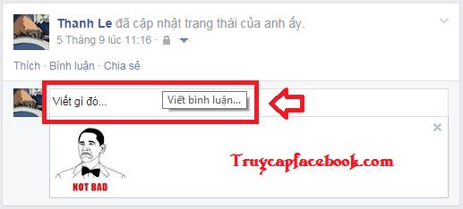 Cách bình luận, comment bằng hình ảnh vui nhộn trên Facebook