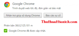 Tải Google Chrome 38 Full cài Offline – Trình duyệt web số 1