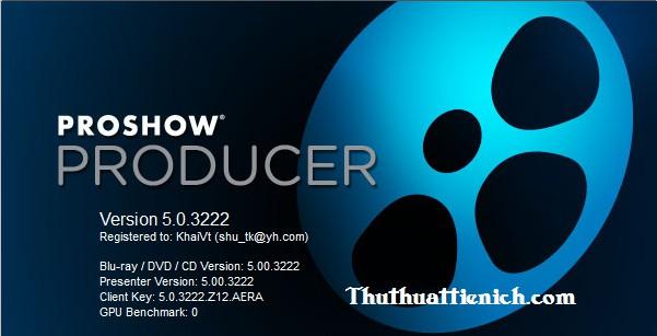 proshow producer 5.0 build 3222 full crack