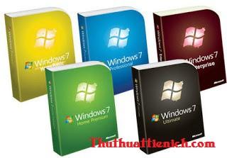 Cấu hình cài đặt windows 7