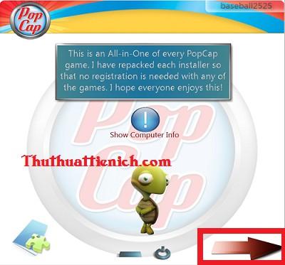 Game offline mini PopCap tổng hợp