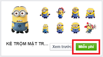 Tải nhãn dán Facebook miễn phí
