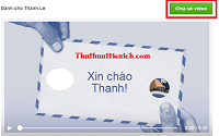 """Hướng dẫn cách tạo video """"Nói lời cảm ơn"""" với Facebook"""