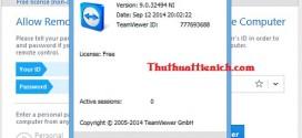 Tải Teamviewer 9.0.32494 – Phần mềm điều khiển máy tính từ xa
