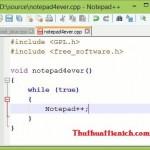 Tải phần mềm Notepad++ 6.7 – Phần mềm lập trình tốt nhất