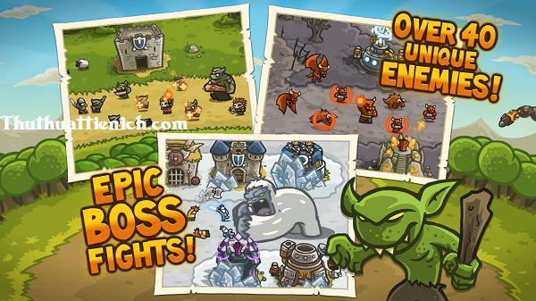 Đánh Boss trong Game Kingdom Rush