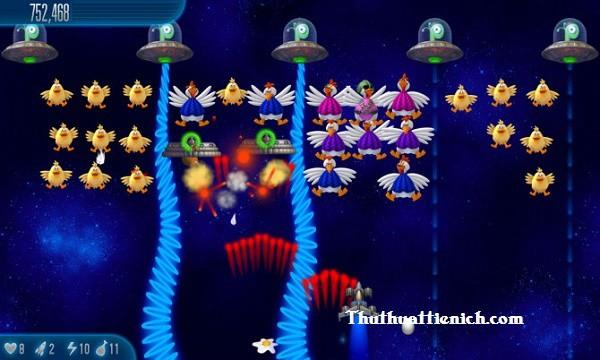 Game bắn gà Chicken Invader 5 - Cluck of the Dark Side