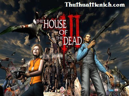 Game ngôi nhà ma Game The House of the Dead 3
