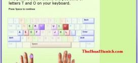 Phần mềm luyện gõ 10 ngón TypingMaster
