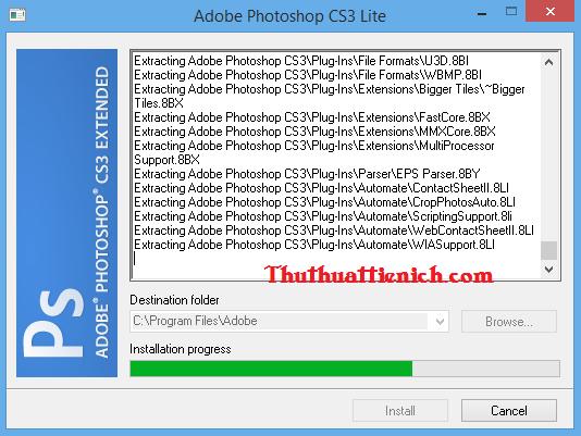 Hướng dẫn sử dụng Photoshop CS3 Portable
