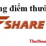 [18-25/12] Tặng bạn đọc Thuthuattienich.com 10 gói điểm thưởng VIP Fshare.vn