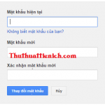 Hướng dẫn cách đổi mật khẩu password tài khoản Gmail nhanh