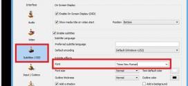 Cách sửa lỗi font phụ đề Sub việt trên VLC media player