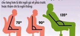 Tác hại của việc ngồi nhiều