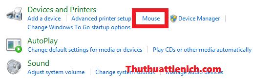 Thay đổi hình dạng con trỏ chuột trên windows
