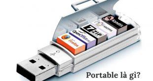 Phần mềm Portable là gì?