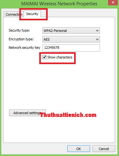 Cách xem mật khẩu wifi trên Windows 8/8.1