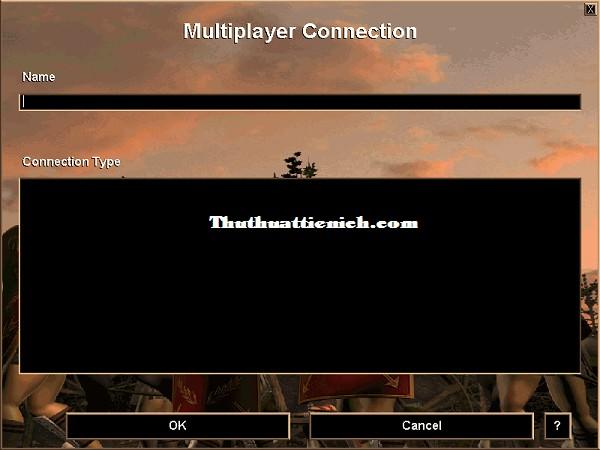 Cách sửa lỗi màn hình đen, không chơi được chế độ Multiplayer, chỉ có Microsoft Internet Gaming Zone
