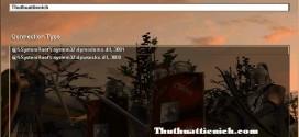 Cách sửa những lỗi khi chơi game AOE 1 qua mạng LAN & Garena