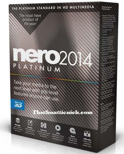 nero 2014 platinum full crack