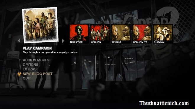 left 4 dead 2 how to play multiplayer online