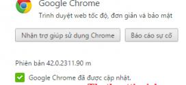 Tải Google Chrome 42 Stable Full cài đặt Offline