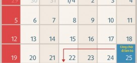 Lịch nghỉ lễ 30/04 & 01/05 năm 2015
